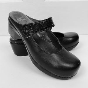 Dansko Solitaire Backless Mary Jane Clogs 40